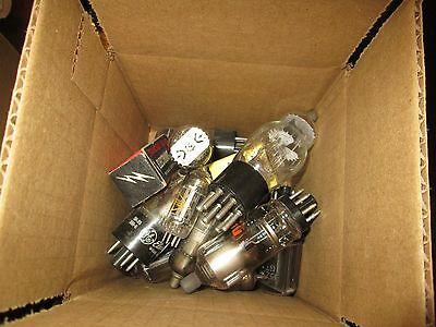 1 pound box of steam punk vacuum tubes $7.99 & free USA shipipng