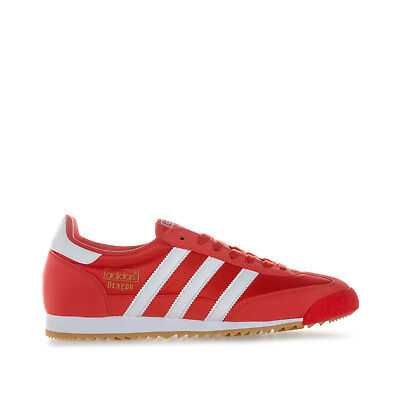 Men's adidas Originals Dragon Og Trainers In Red From Get The Label
