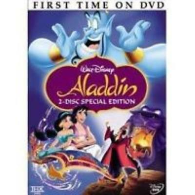 Aladdin 2-Disc Special Platinum Set DVD VIDEO MOVIE Walt Disney's animated genie