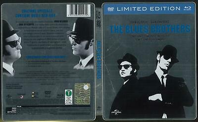 The Blues Brothers Limited Edition 1980 Dvd+ Blu Ray Steelbook Ottimo Usato