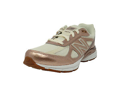 new product 875e4 f2b14 NEW BALANCE SHOES Youth Girls Kids Womens 990 Running Sneaker Brown Beige  White