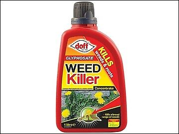 DOFF Glyphosate Weed Killer Concentrate 1 Litre DOFFZA00