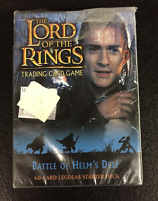 Lord of the Rings Legolas 60 Card Starter Deck Battle of Helm's Deep NEW