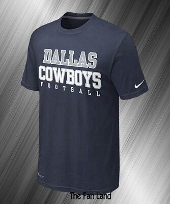 9fbeee4b5 NEW NFL DALLAS Cowboys Nike DRI FIT Mens Legend Practice 2.0 T-Shirt ...