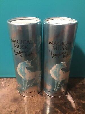 Max Factor Magical Musk By Toujours Moi Dusting Powder 2oz Each