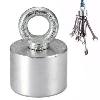 40Kg Salvage Strong Recovery Magnet Neodymium Hook Treasure Hunting Fishing Set