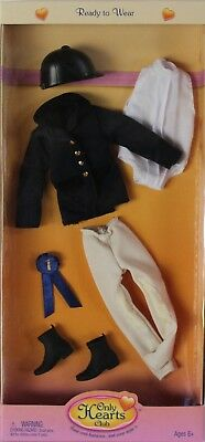 NEW Only Hearts Club Ready to Wear Black English Riding Outfit 213