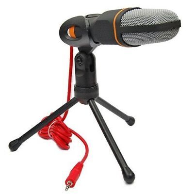 Professional Condenser Sound Podcast Studio Microphone For PC Laptop Skype MSN F