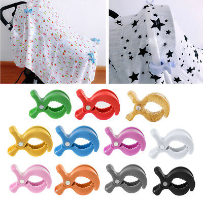 Toy Lamp Baby Car Seat Accessories Pram Stroller Peg To Hook Cover Blanket Clips
