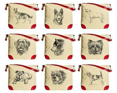 English Bulldog and Cat Beige Printed Canvas Tote Bag Shoulder Bag WAS_33