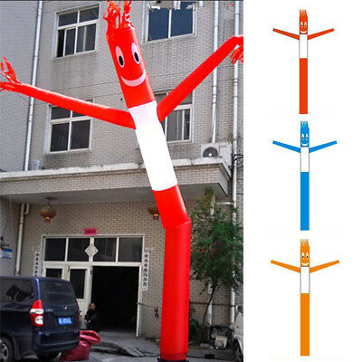 3m/4m/6m Inflatable Advertising Air Sky Tube Puppet Flag Wavy Man Wind Dancer