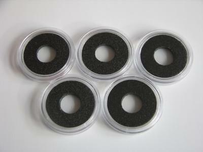 5 Ring coin capsules Airtite 10mm 11mm 12mm 13mm 14mm 15mm 16mm 17mm 18mm 19mm