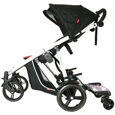 Ride On Buggy Board With Seat Or Saddle Compatible With Graco Stroller Prams