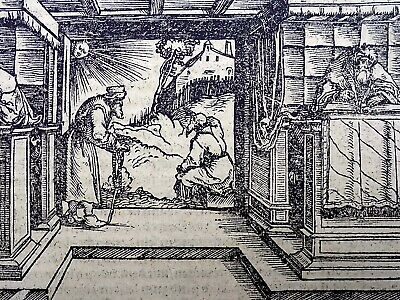 1544 Master of Petrach - Hans Weiditz 1495-1537 - Stability of Christian Church