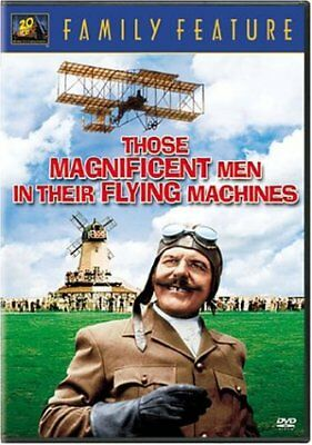 Those Magnificent Men in Their Flying Machines New DVD! Ships Fast!