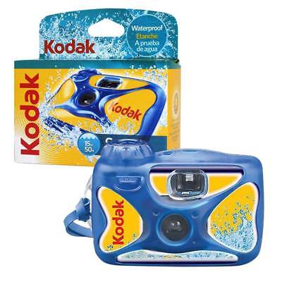 Kodak Aqua WaterSport Waterproof 15M Single Use Disposable Camera - 27 Pictures