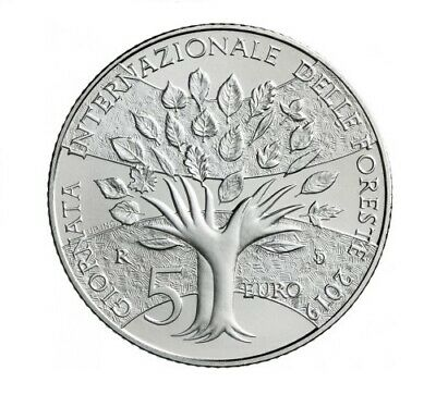 #RM# 5 EURO COMMEMORATIVE SAN MARIN 2019 - Forests Journeys