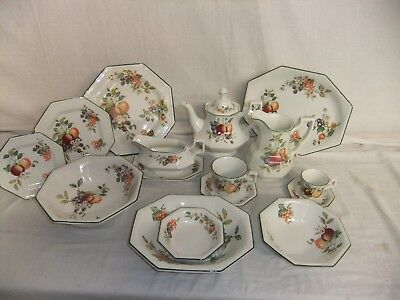 C4 Pottery Johnson Brothers - Fresh Fruit - Fine English Tableware 3B2A