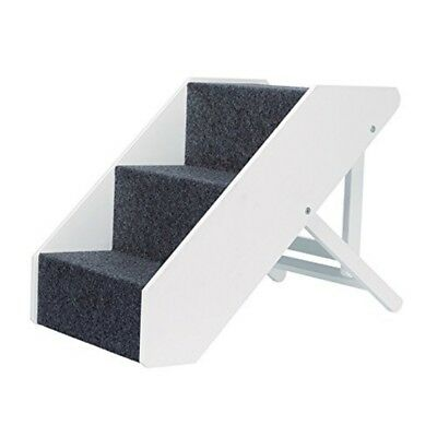 Pet Stairs, Height-adjustable 40 × 67 Cm, White