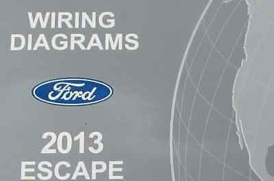 2013 ford escape electrical wiring diagrams diagram service manual ewd  damaged