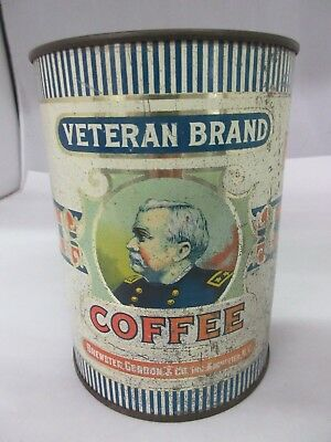 Vintage Veteran Brand Coffee   Advertising Collectible  728-Z