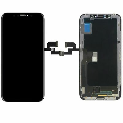 Display LCD Komplett Einheit Touch Panel für Apple iPhone X 10 Schwarz Reparatur