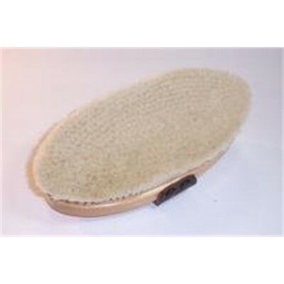 White Goat Hair Hill Brush - Body 25mm Trim Horse Grooming Vale Brothers Equine