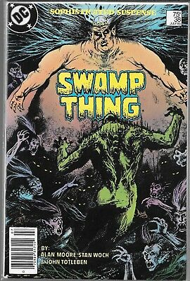 Swamp Thing #38 (Fn) Alan Moore, Copper Age