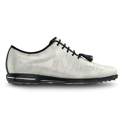 FootJoy Tailored Collection Womens Golf Shoes 91690 - White Gold - Pick Size 3c0d9100bf7