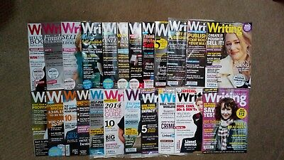 Writing Magazine - Lot of 23 issues from 2012-2014