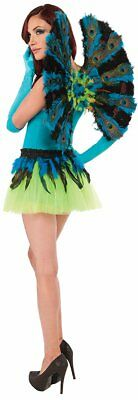 Peacock Wings Women's Deluxe Costume Accessory One Size