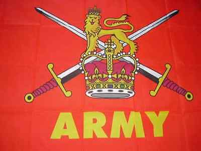 British Army Flag 3 Sizes Military Armed Forces Day Bunting Hand Wavers