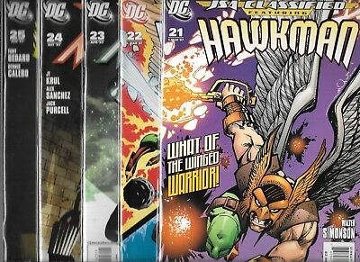 Jsa Classified Lot Of 5 - #21 #22 #23 #24 #25 (Nm-) Justice Society Of America