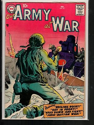 Our Army at War #67 VG- 3.5 DC Silver Age War 1958 Complete!!!