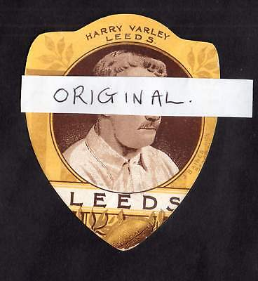 J BAINES HARRY VARLEY LEEDS Rugby North Parade Bradford Rugby sport shield