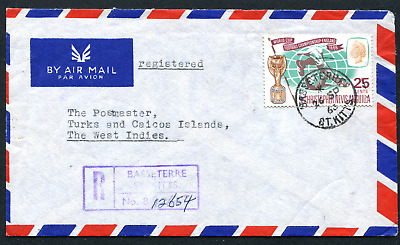 ST. KITTS-NEVIS (18464) Turks & Caicos inter-island cover