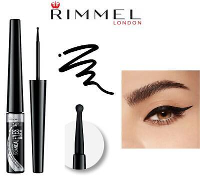 Rimmel Scandaleyes Bold Liquid Eyeliner Waterproof Black *new*