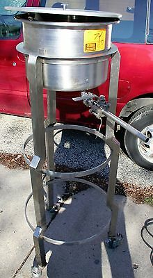 Savage Brothers Stainless Steel Drip Feed Kettle 5-gallon Candy Confectionary
