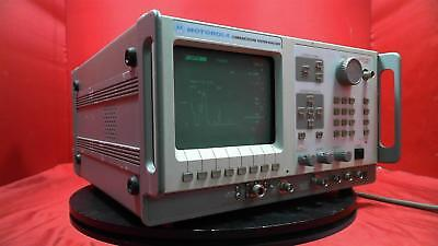 Motorola R2600CNT Communications Service Monitor, 400KHz-1GHz With Accessories