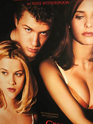 Cruel Intentions Poster Sarah Michelle Gellar Ryan Phillippe Witherspoon Blair