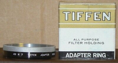 Tiffen 49 M 7  Adapter with Retaining Ring