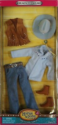 NEW Only Hearts Club Ready to Wear Blue Western Riding Outfit 3214