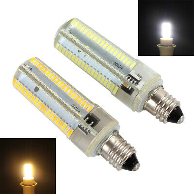 Dimmable E11 152 LEDs 3014 SMD 10W Corn Bulb Lamp White / Warm White Light