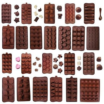 60 Shapes Silicone Cake Decorating Mould Candy Diy Cookies Chocolate Baking Mold