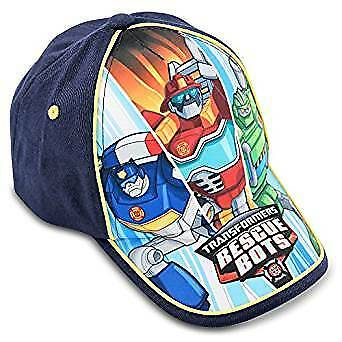 Baseball Cap - Transformers - Rescue Bots Navy Kids/Youth Size 278004