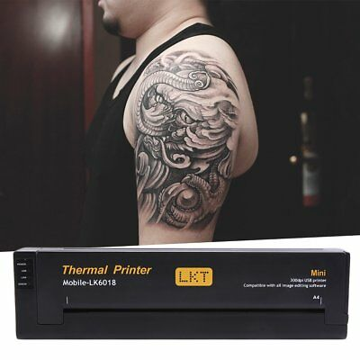 Pro Noir Tatouages transfert imprimante Tattoo thermocopieur printer HM