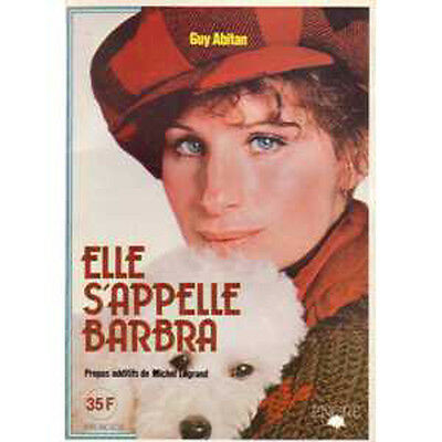 BOOK Barbra STREISAND Elle s'appelle Barbra Soft sleeve 100p with lots of photos