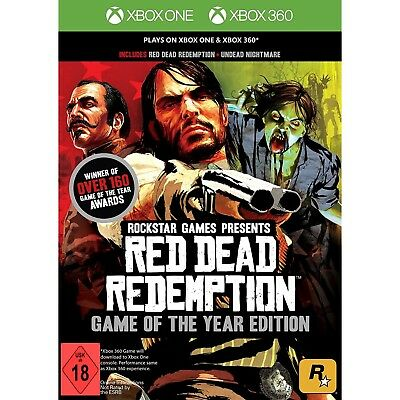 Xbox 360 Xbox One Red Dead Redemption Undead Nightmare Game of the Year Edition