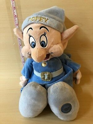 "Disney Store Exclusive  Large 14""  Dopey Dwarf Plush Soft Toy"