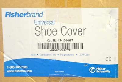 Fisherbrand Universal Maximum Protection Disposable Anti Static Shoe Covers-300